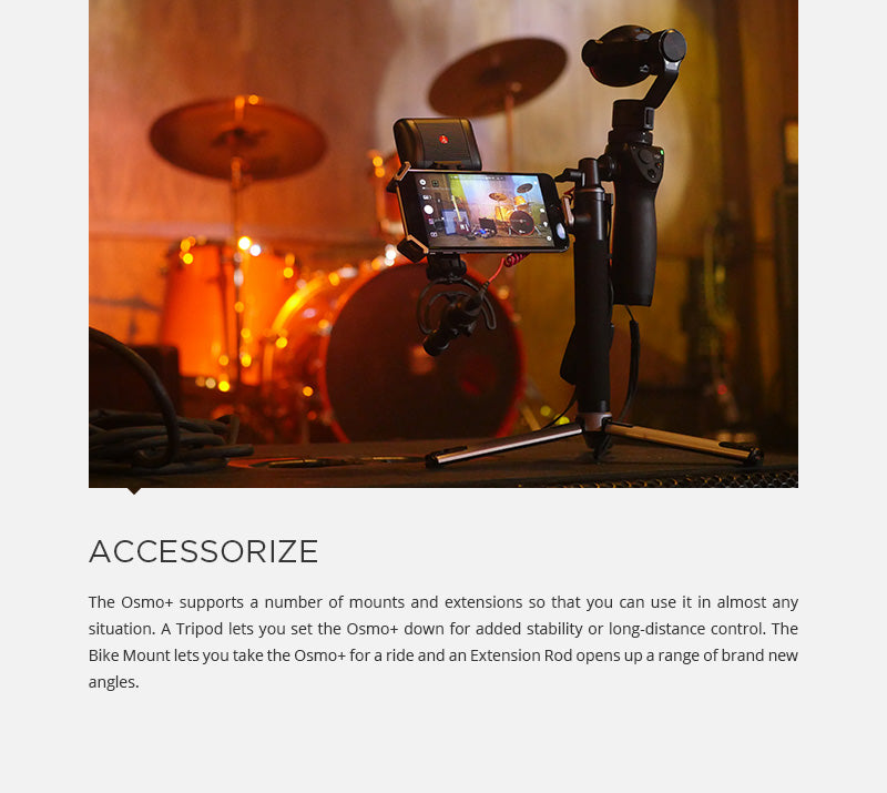 DJI Osmo Plus Accessories