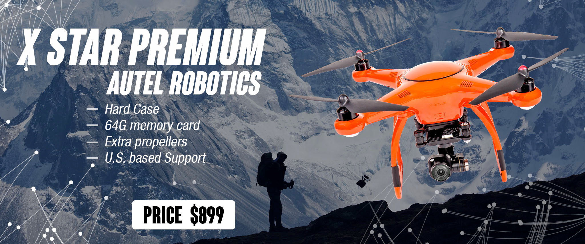 X Star Premium Drone with Free Battery