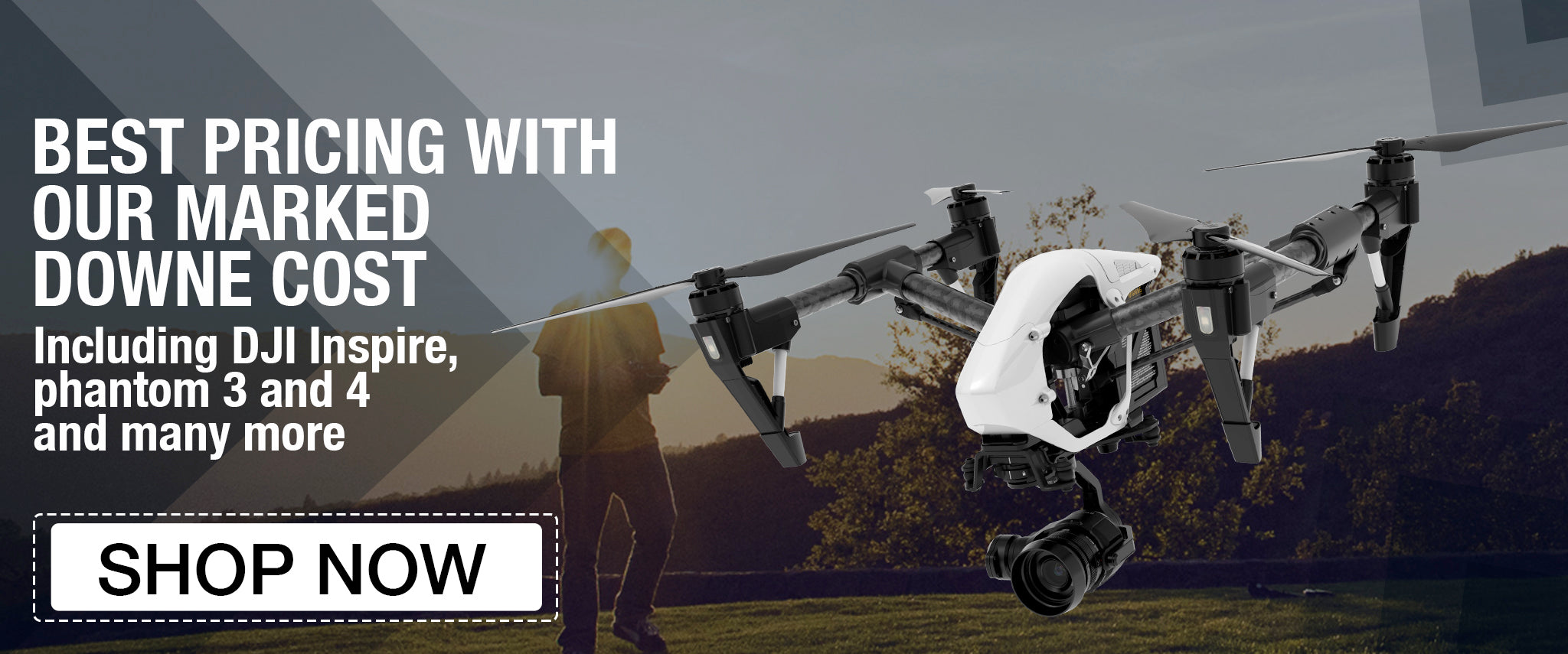 DJI Inspire Drone 1 V2.0 best price, on sale
