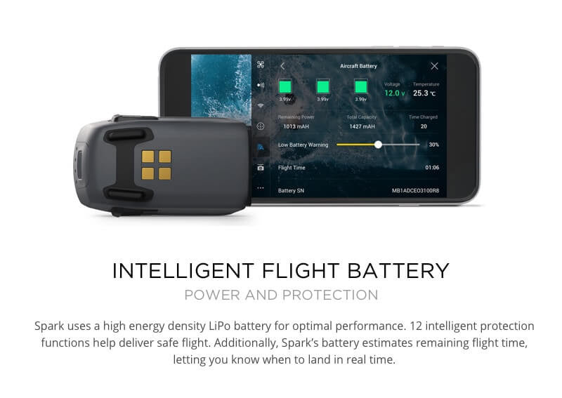 Intelligent Flight Battery