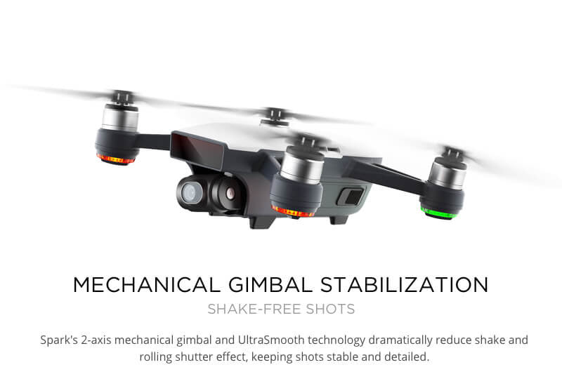 Mechanical Gimbal Stabilization