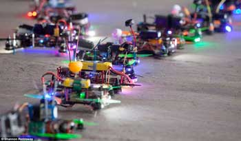 FPV Drone Racing Line Up