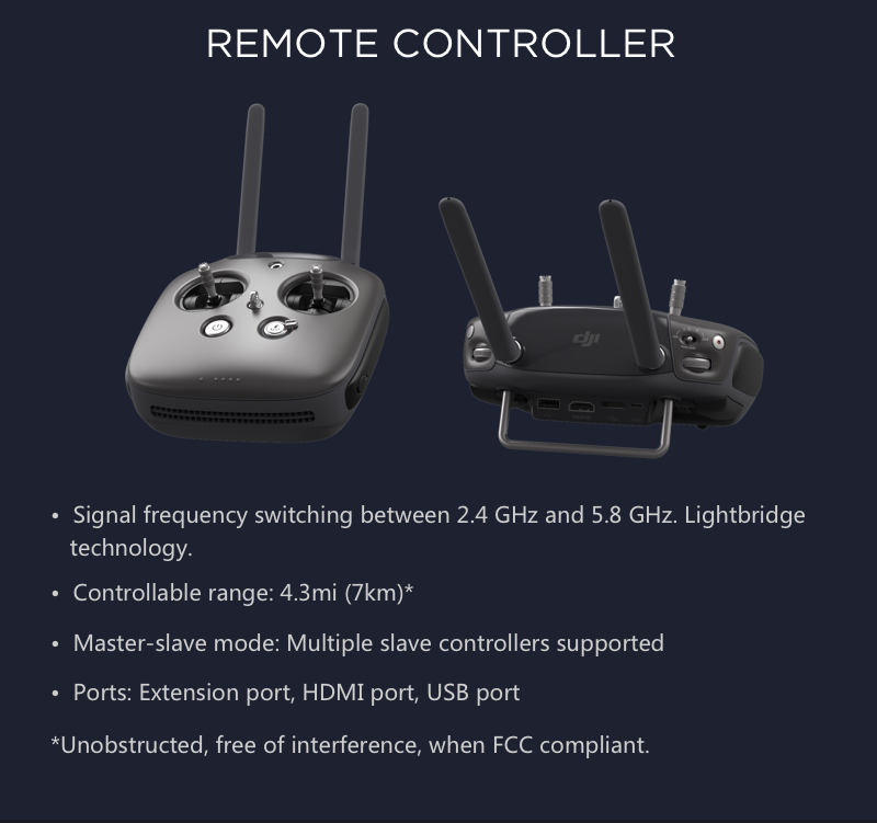 Remote Controller for the DJI Inspire 1