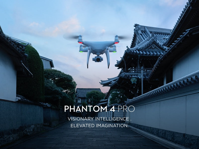 Phantom 4 Pro Drone in Flight