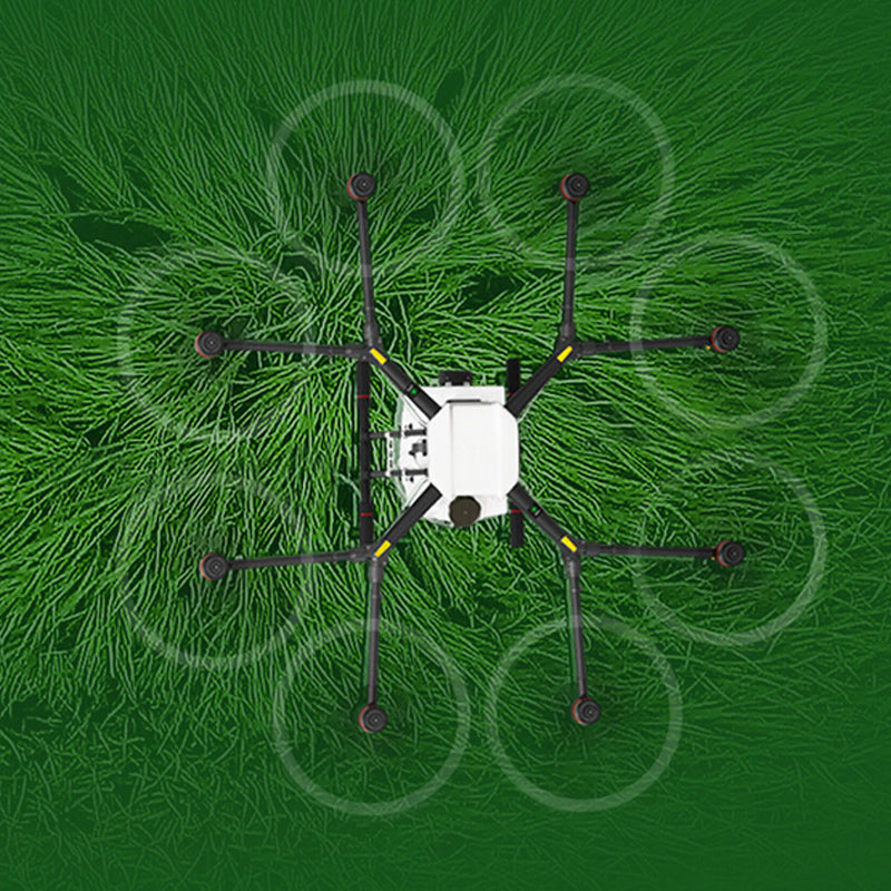 Build and design of the DJI Agras Agriculture Drone