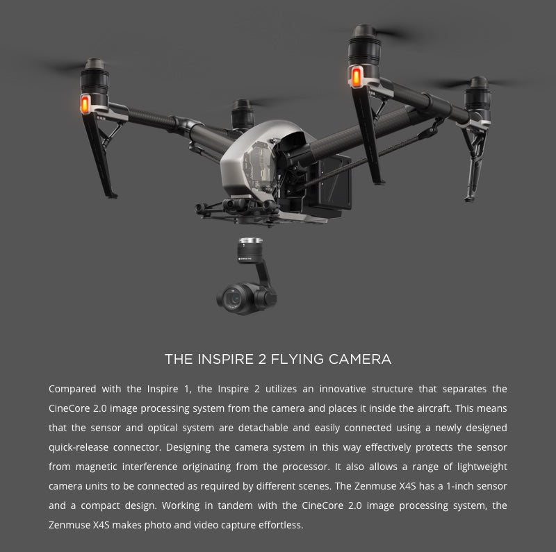 Zenmuse X4S Flying Camera