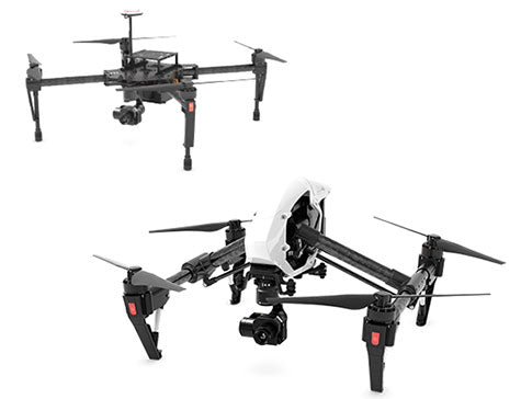 Inspire and DJI Matrice Drones