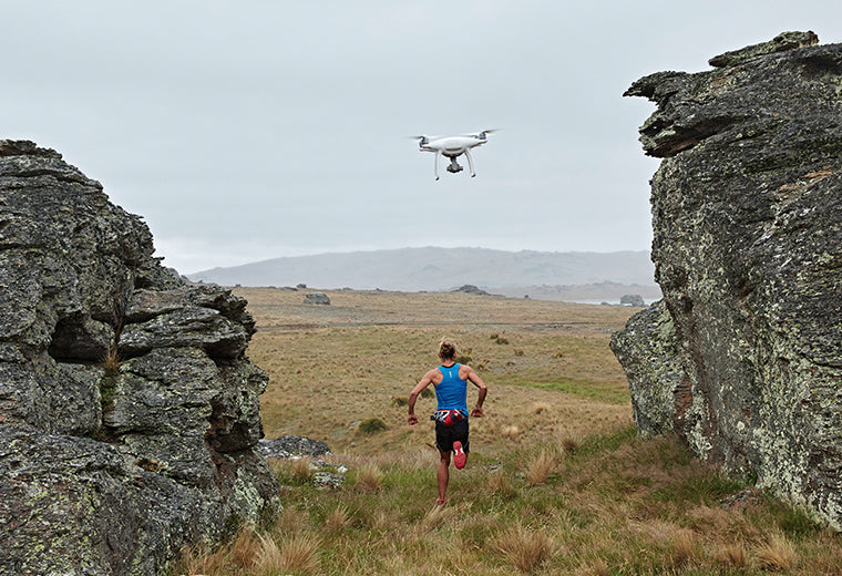 Using drones for personal training