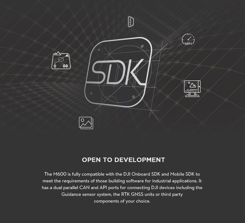 SDK Open Development Platform Matrice 600 DJI