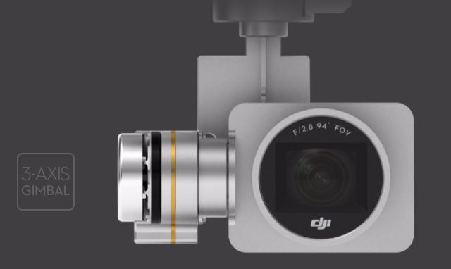 3 Axis Gimbal  - 4K Video 12 MP Photos