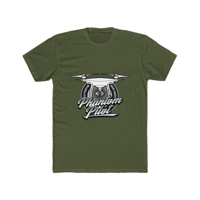 Phantom Pilot - Uni-Sex Cotton Crew Tee - T-Shirt