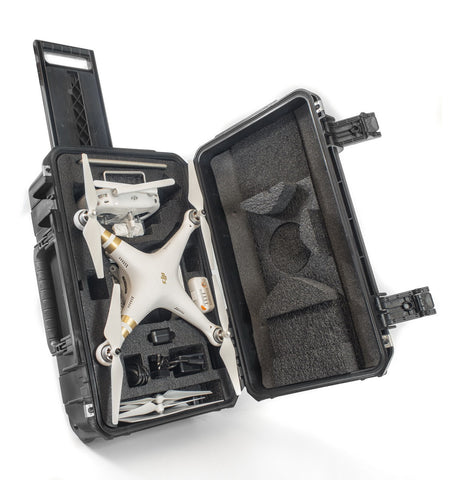 DJI Phantom 3 Drone Wheeled Hard Case - Cases