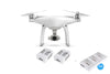 Phantom 4 + 2 Extra Batteries w/ Free Charging Hub OR Car Charger (Your Selection) - DJI