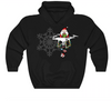 Droning Santa - Christmas Hooded Sweater - hooded sweatshirt