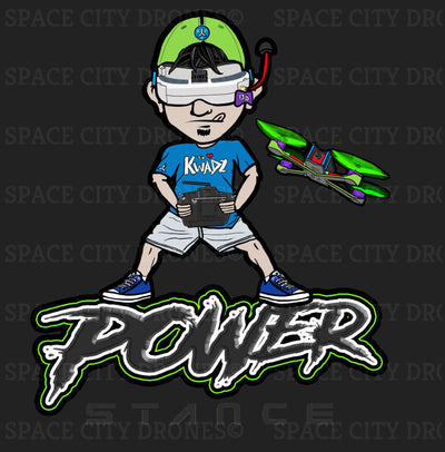Power Stance - FPV Shirt - T-Shirt