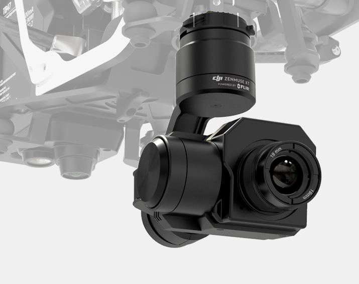 Dji Inspire 1 X5 Pro Black With Zenmuse Xt Thermal