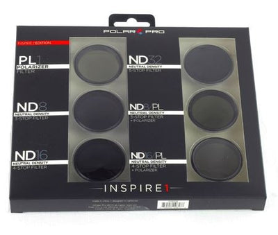 PolarPro DJI Inspire 1 Zenmuse X3  or DJI Osmo Filters (6-Pack) - Camera Filter