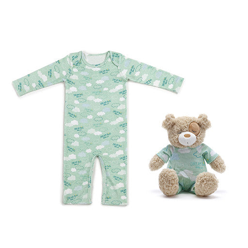 Dream Big Puppy and Pajama Gift Set