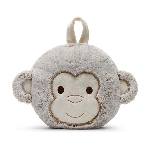 Marcell Monkey Blanket and Pillow Set