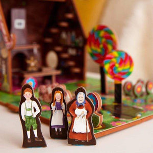 Hansel and Gretel Book and Play Set