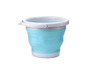 Aqua Collapsible Bucket