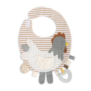 Mommy & Me Activity Bib Rooster