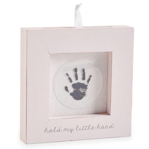 Pink Hand And Foot Print Frame