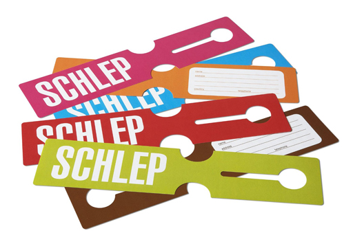 Schlep Luggage Tags