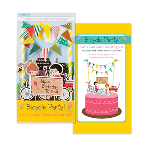 Bicycle Cake Decorating Kit