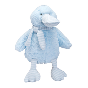 Plush Duck Cream/Blue