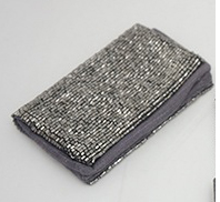 Card/Cash Holder Explicit-Black on Pewter