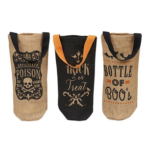 Halloween Bottle Totes