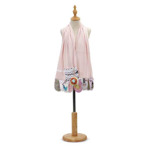 Mommy & Me Activity Scarf Pink
