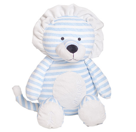 Believe Lion Lullaby Poetic Plush