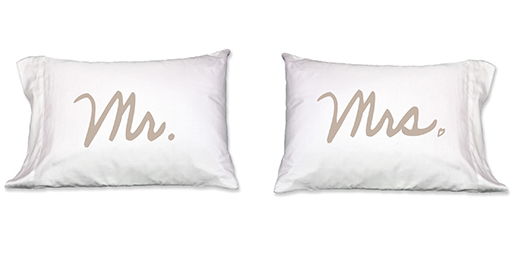 Mr. and Mrs. Pillowcase, Set