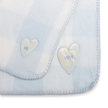 Load image into Gallery viewer, Mom & Me Blue Snuggle Time Blanket Set