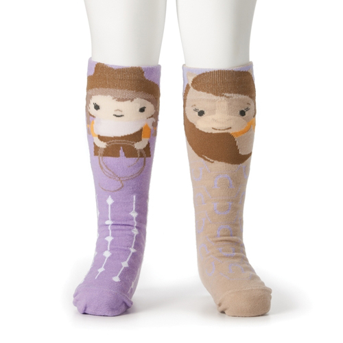 Cowgirl and Horse Knee Socks