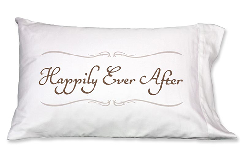 Happily Ever After pillowcase, Single