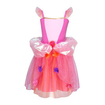 Flower fairy dress size 3/4-hot pink