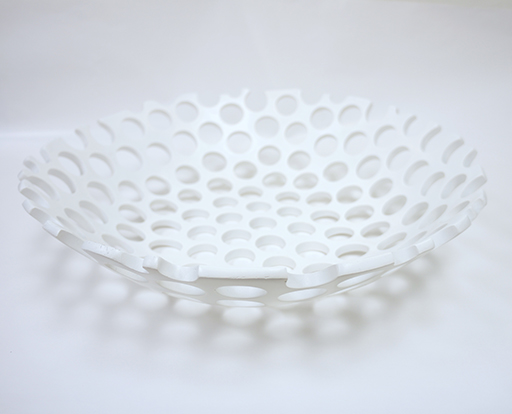 Dune Wide Bowl-White