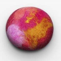 Citrus Spice Felted Soap