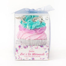 Load image into Gallery viewer, Large Mermaid Cupcake Bath Bomb