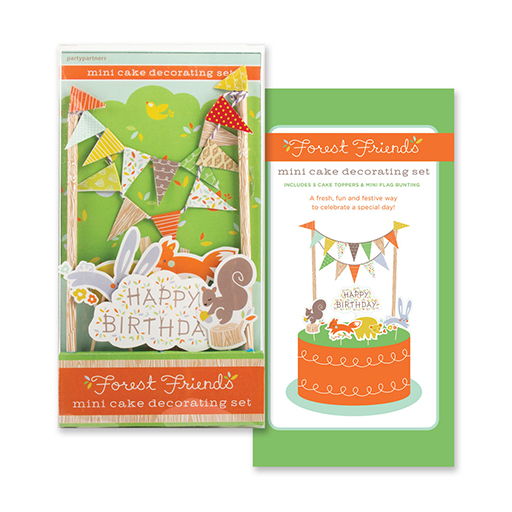 Forest Friends Cake Decorating Kit