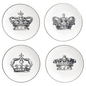 Crown Appetizer Plate