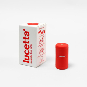 Lucetta Bike Light, Red