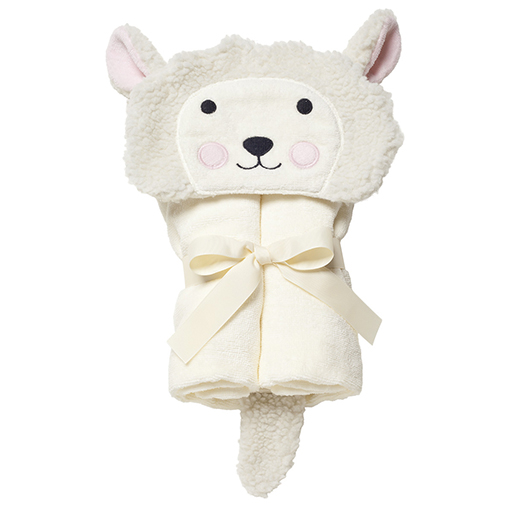 Cream Lambie Bath Wrap