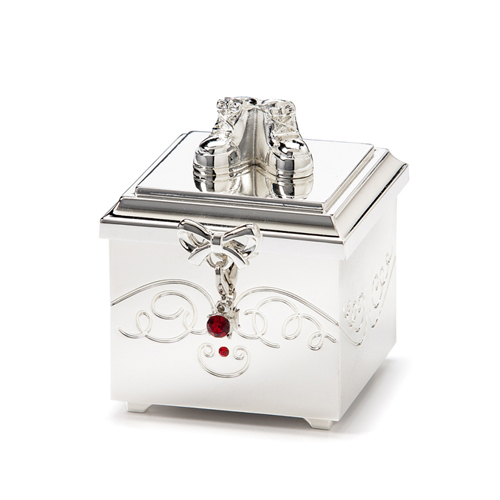 Birthstone July Charm Keepsake Box