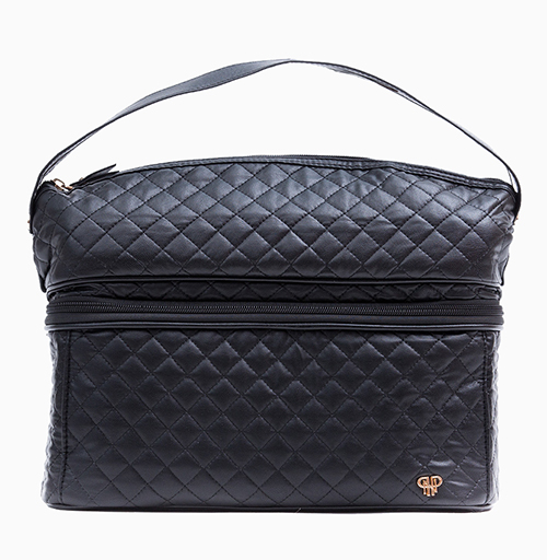 Timeless Quilted Stylist Travel Bag