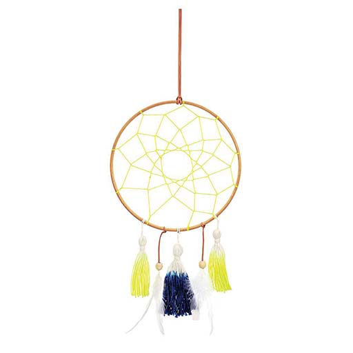 Blue & Yellow Dreamcatcher