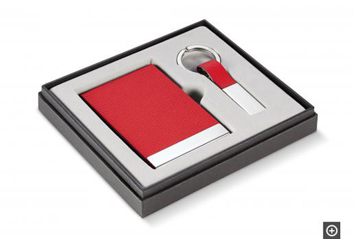 Red Todd Business Gift Set, 2 pcs.
